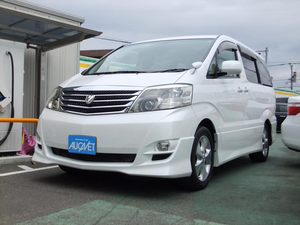延岡市の中古車アルファードG ASプライムセレクション2エアロ詳細を見る
