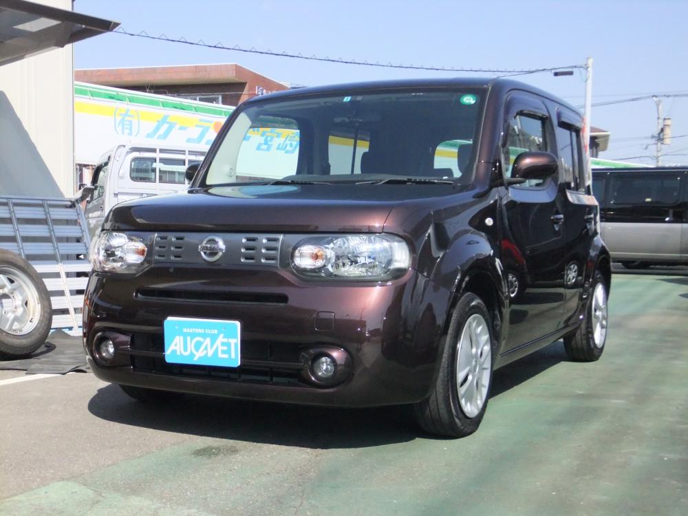 延岡市の中古車キューブ 1.5X詳細を見る
