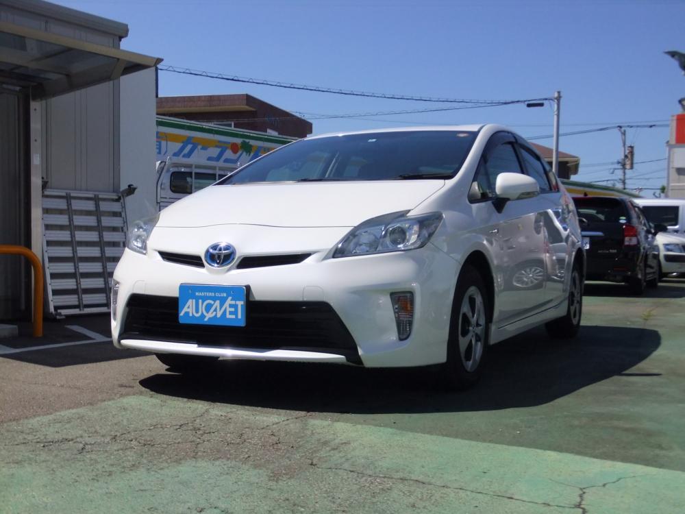 延岡市の中古車プリウス S詳細を見る