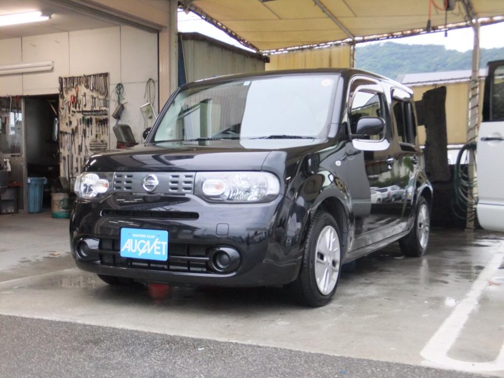 延岡市の中古車キューブ 15X詳細を見る
