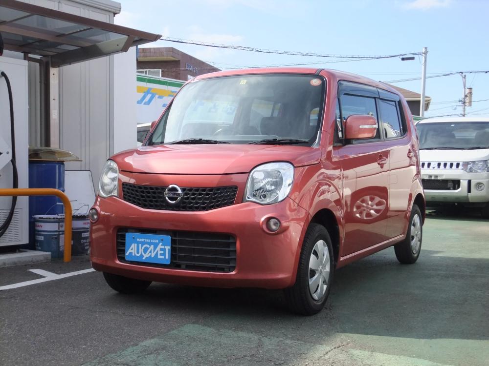 延岡市の中古車モコ Xの画像