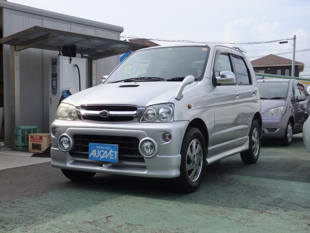 延岡市の中古車テリオスキッド 4WD カスタムXエアロ詳細を見る