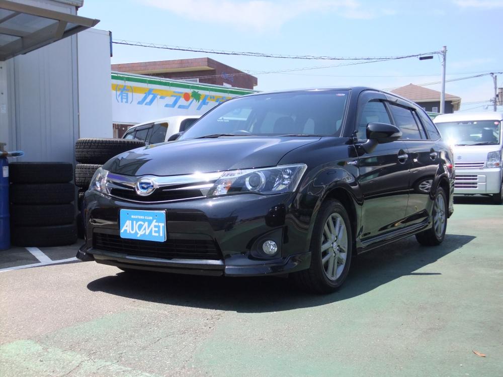 延岡市の中古車フィールダーHV G エアロツアラーW×B詳細を見る