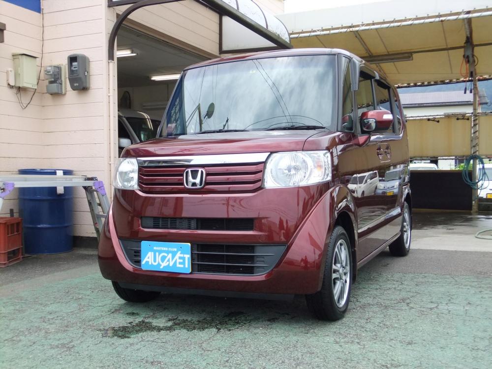 延岡市の中古車N-BOX G Lパッケージ詳細を見る